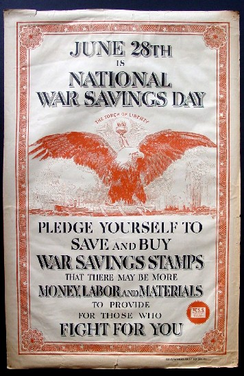 june 28th national war savings day